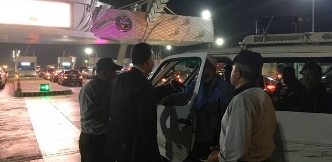 """وزير النقل يتفقد طريق """"شبرا - بنها"""" الحر.. أصبح جاهزا للافتتاح"""