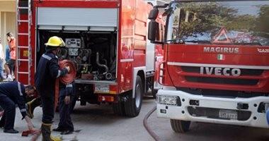 الحماية المدنية تنجح فى السيطرة على حريق منازل قرية سنجها بالشرقية