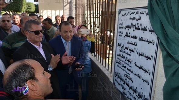 محافظ كفر الشيخ يفتتح تطوير هندسة الكهرباء بتكلفة 1.1 مليون جنيه..صور