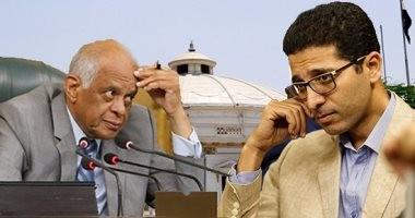 مصادر برلمانية:إحالة هيثم الحريرى إلى لجنة القيم لتحريضه ضد النواب