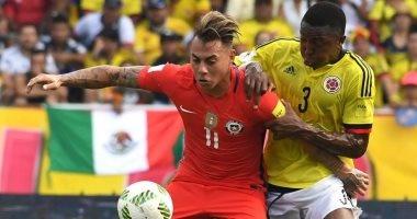 تصفيات المونديال.. التعادل السلبى يحسم موقعة كولومبيا وتشيلى