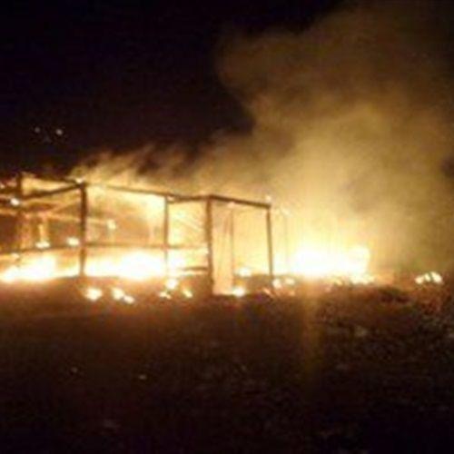 """السلطات الإسرائيلية تجلي سكان قرية """"بيت مئير"""" بسبب الحرائق"""