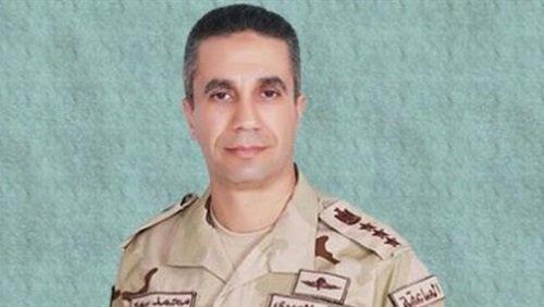 المتحدث العسكري: استشهاد 4 من القوات المسلحة وقتل 6 تكفيريين في شمال سيناء