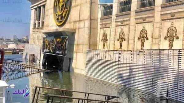 ننشر أول فيديو وصور لحادث غرق عوامة نيلية بـ الجيزة