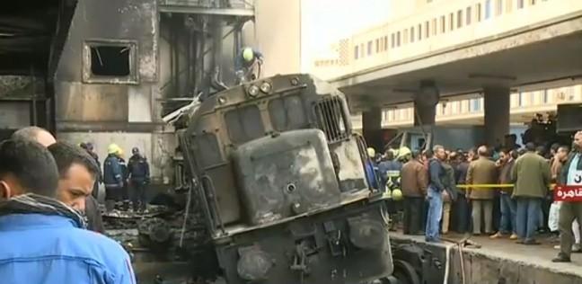 عاجل| مصدر أمني: هروب سائق جرار حادث محطة مصر