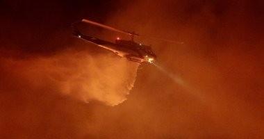 مصرع 10 أشخاص بسبب الحرائق فى كاليفورنيا