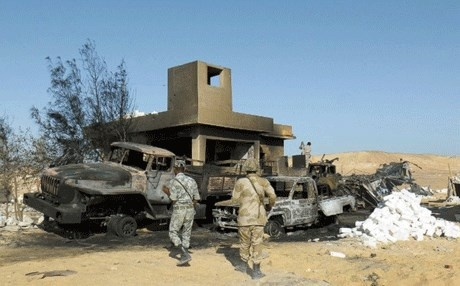 الأردن تدين هجوم سيناء..وتؤكد وقوفها إلى جانب مصر في مكافحة الإرهاب