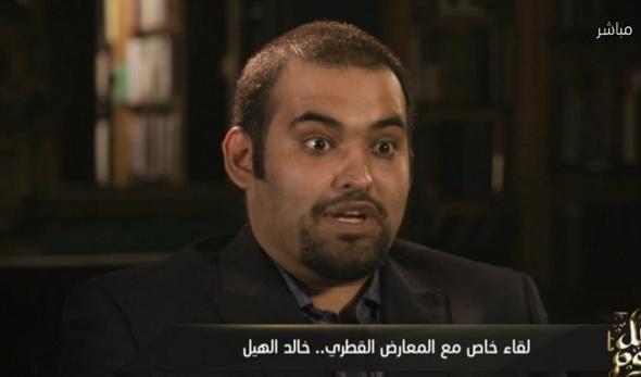 شاهد.. معارض قطري يكشف تأثير القرضاوي على الأسرة الحاكمة
