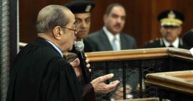صور.. فريد الديب يلتمس إعلان مبارك للشهادة بقضية اقتحام الحدود من القضاء العسكرى