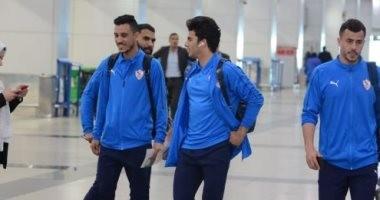 صور .. بعثة الزمالك تصل مطار القاهرة للسفر للجزائر