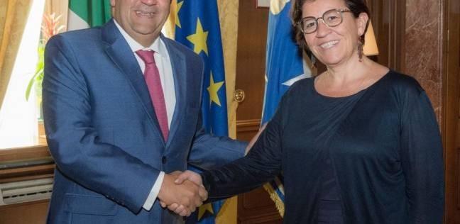 وزيرة دفاع إيطاليا: مصر شريك لا غنى عنه بمنطقة البحر المتوسط