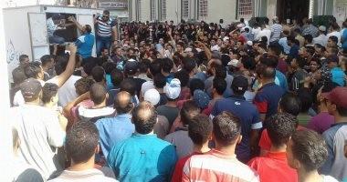 تشييع جثامين ضحايا حادث بورسعيد بالمطرية.. ومحافظ الدقهلية يطمئن على المصابين