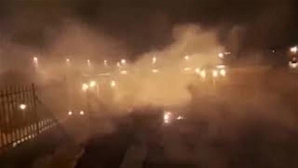 حريق داخل المسجد الأقصى.. فيديو