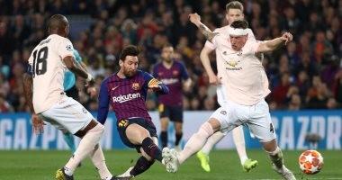 شاهد.. برشلونة يسقط مانشستر يونايتد بثنائية في 4 دقائق بالشوط الأول