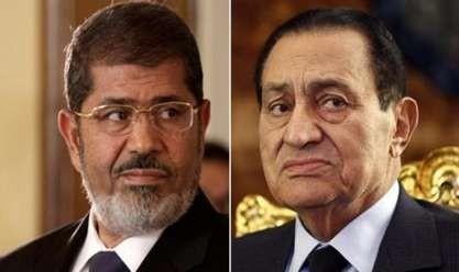 اليوم.. مبارك في مواجهة مرسي بمحاكمة «اقتحام السجون»