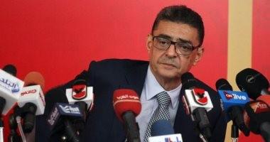 محمود طاهر يكشف عن موقع استاد الحلم الأهلاوى فى مؤتمر صحفى