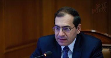 وزير البترول يبحث مع الأردن التعاون فى مجالات استيراد الغاز المسال