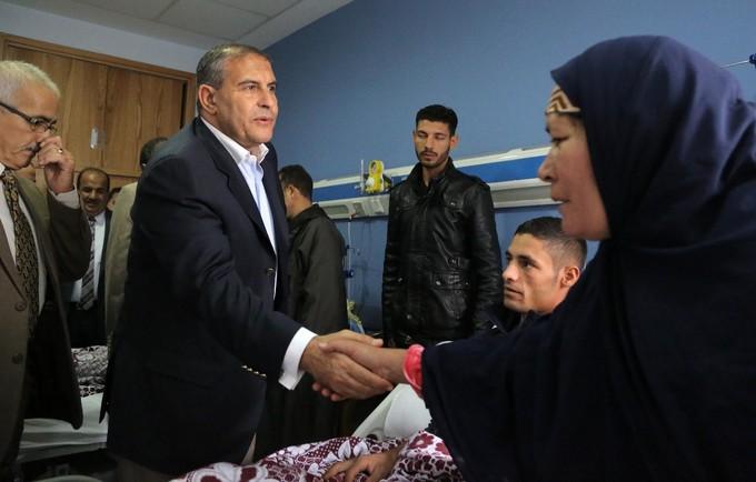 ائتلاف «دعم مصر» يزور مصابي حادث الواحات