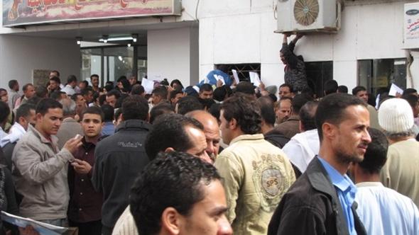 عودة الكهرباء لمجمع المصالح الحكومية بالمنيا بعد انقطاع 3أيام
