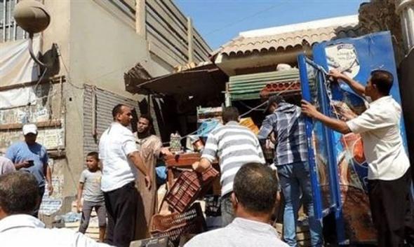 تحرير 132 محضر إشغال بمركز ديروط خلال يوم واحد