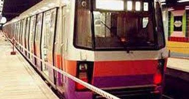 المترو:عطل فنى بقطار محطة ساقية مكى وتشغيل الحركة من شبرا لضواحى الجيزة