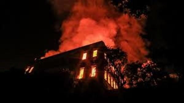حريق في فندق شهير بسان ستيفانو الإسكندرية