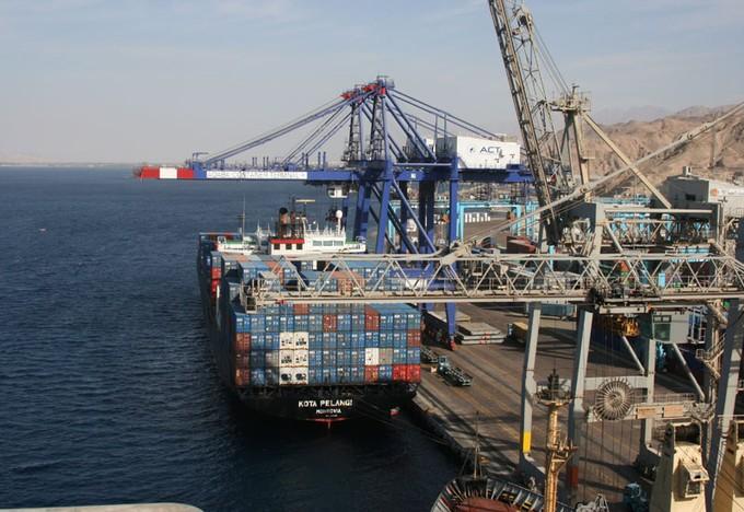 20 سفينة إجمالي الحركة بموانئ بورسعيد