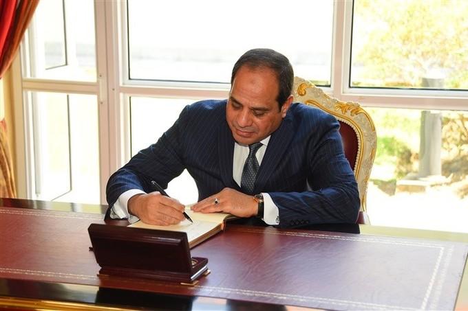 «السيسي» يوقع تعديلات ببعض أحكام قانون إنهاء المنازعات الضريبية