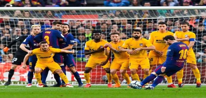 قمة الدوري الإسباني.. برشلونة 1-0 أتلتيكو مدريد.. الـ600 لميسي