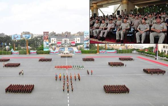تخريج 3 دفعات جديدة من الضباط المتخصصين بالكلية الحربية