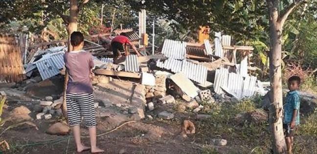 ارتفاع ضحايا زلزال إندونيسيا إلى 37 قتيلا