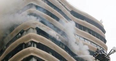 السيطرة على حريق شب داخل مستشفى دمنهور