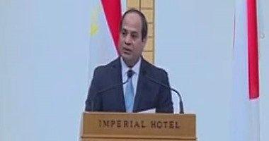 الرئيس السيسى يرأس اليوم أول اجتماع للمجلس الأعلى للاستثمار