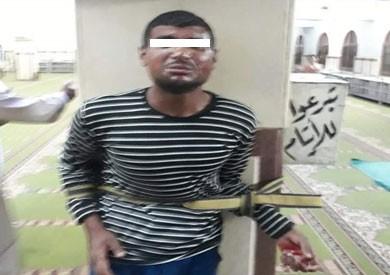القبض على لص يسرق صناديق الزكاة من مسجد بالسويس