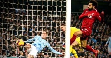 """مان سيتي يتفوق على ليفربول 0/1 فى شوط مثير بقمة الدوري الإنجليزي """"فيديو"""""""