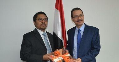 وفد إندونيسى يبحث فرص الاستثمار بالمنطقة الاقتصادية لقناة السويس