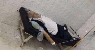 تشريح جثة والد مريض توفى بعد التعدى عليه بالضرب داخل مستشفى ههيا بالشرقية