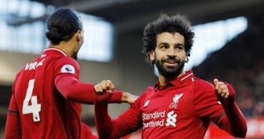 محمد صلاح ثاني أفضل هداف فى تاريخ ليفربول ضد واتفورد.. فيديو