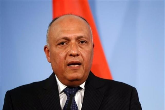 شكري: مشاورات عربية بشأن توقيت عودة سوريا إلى الجامعة العربية بعد تنفيذ المسار السياسي