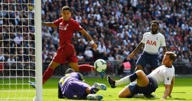 فيرمينو يسجل ثانى أهداف ليفربول ضد توتنهام فى الدوري الإنجليزي