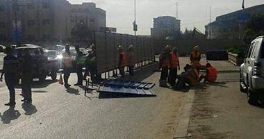 المرور: إغلاق محور النصر بسبب أعمال إنشاء كوبرى الفنجرى لمدة يومين