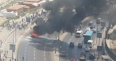 مصرع 5 من أسرة واحدة فى حادث تصادم على الطريق الصحراوى بالمنيا