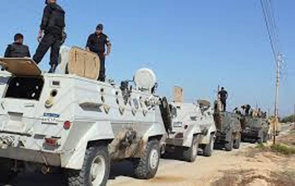 إصابة ضابط و3 مجندين في حادثتين إرهابيين بالشيخ زويد