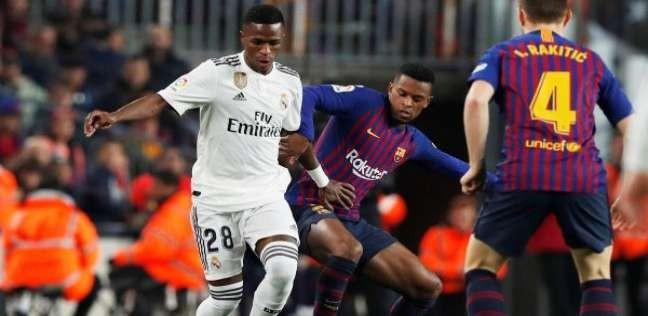 أي خدمة   بث مباشر ريال مدريد وبرشلونة اليوم 27 - 2 - 2019