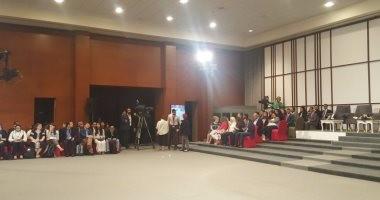 بالصور.. افتتاح نموذج محاكاة مجلس الأمن فى شرم الشيخ بحضور السيسى