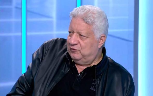 """بالفيديو.. مرتضى منصور لـ""""مايا دياب"""": """"رجلك زي المعزة"""""""