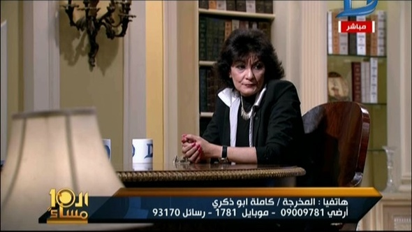 مواجهة على الهواء بين سماح أنور وكاملة أبو ذكري بسبب حذف بعض المشاهد من فيلم «يوم للستات».. فيديو