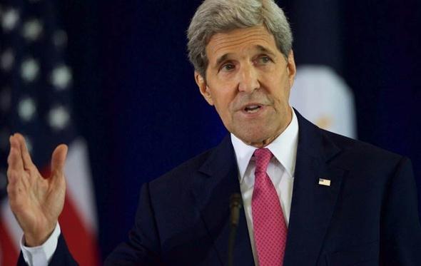 جون كيري: حكومة وحدة وطنية باليمن نهاية العام الجاري