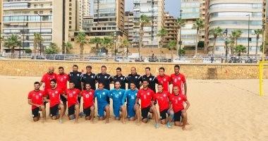 منتخب الشاطئية يواجه البرازيل فى بطولة الإمارات الدولية