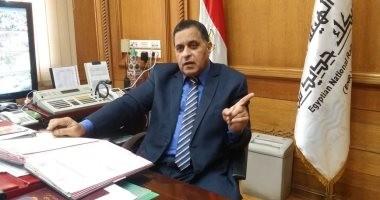 نائب رئيس هيئة السكة الحديد يتفقد المزلقانات ومحطة سمالوط